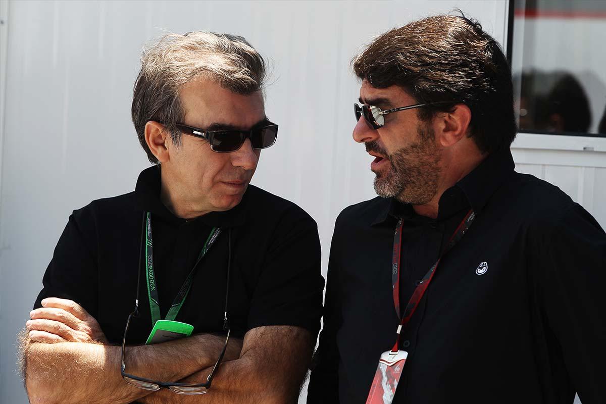 Jaime Alguersuari Sr. y Luis García Abad en Brasil - SoyMotor.com