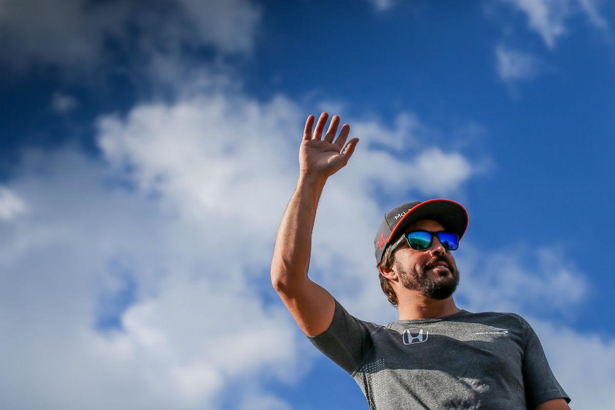 Alonso durante un Gran Premio esta temporada - SoyMotor.com