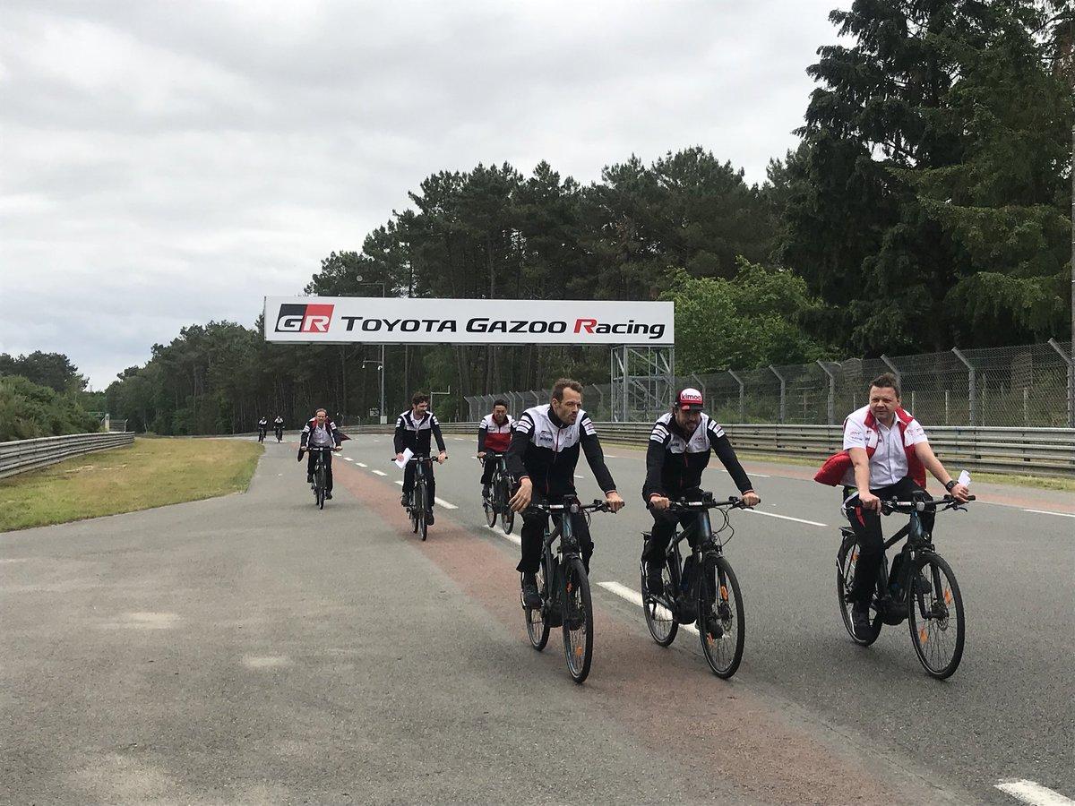 El equipo Toyota Gazoo Racing, en Le Mans – SoyMotor.com