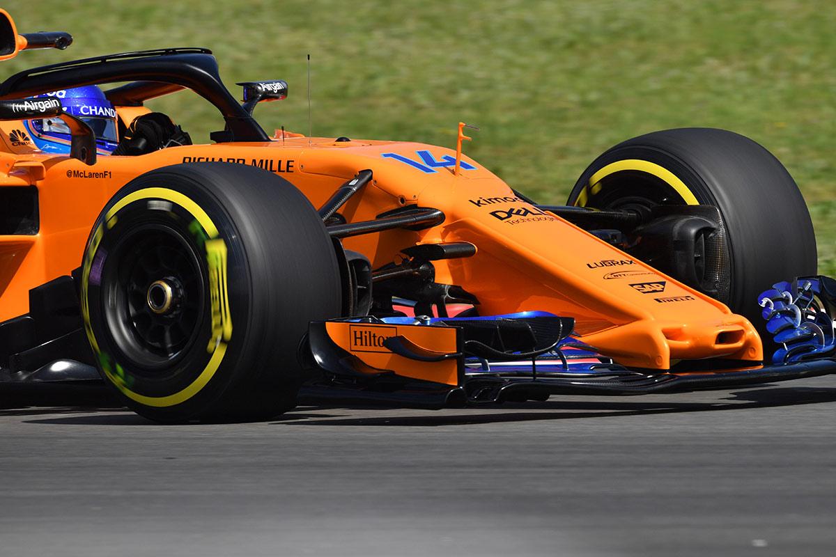 McLaren: Un morro muy español para Alonso - SoyMotor.com