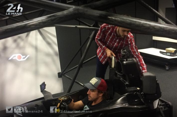 Test de simulador de seguridad de Fernando Alonso – SoyMotor.com