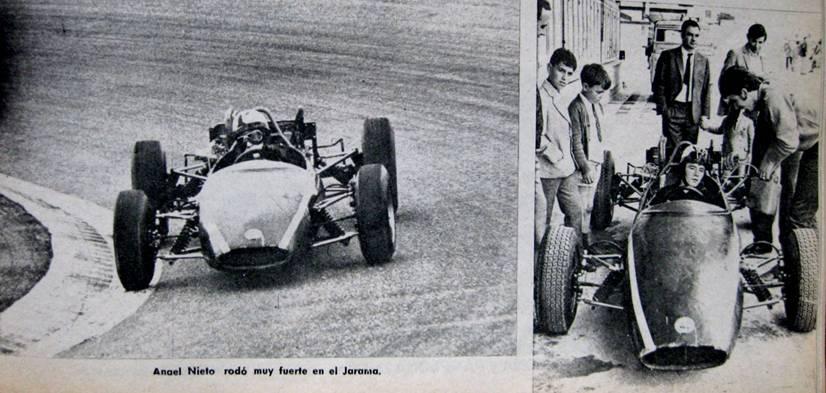 Ángel Nieto también hizo sus pinitos en cuatro ruedas