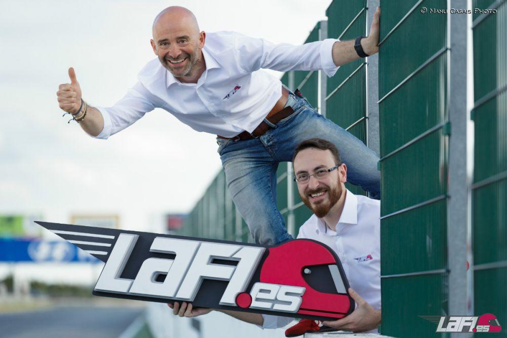 Antonio Lobato y Cristóbal Rosaleny, nuevos directores de LaF1.es