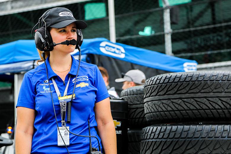 Silvia Bellot en Indianápolis - SoyMotor.com