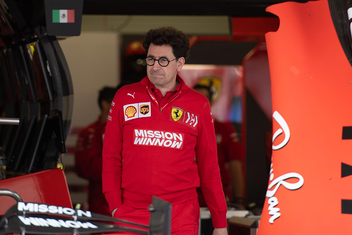 Mattia Binotto en el GP de México F1 2019 - SoyMotor.com