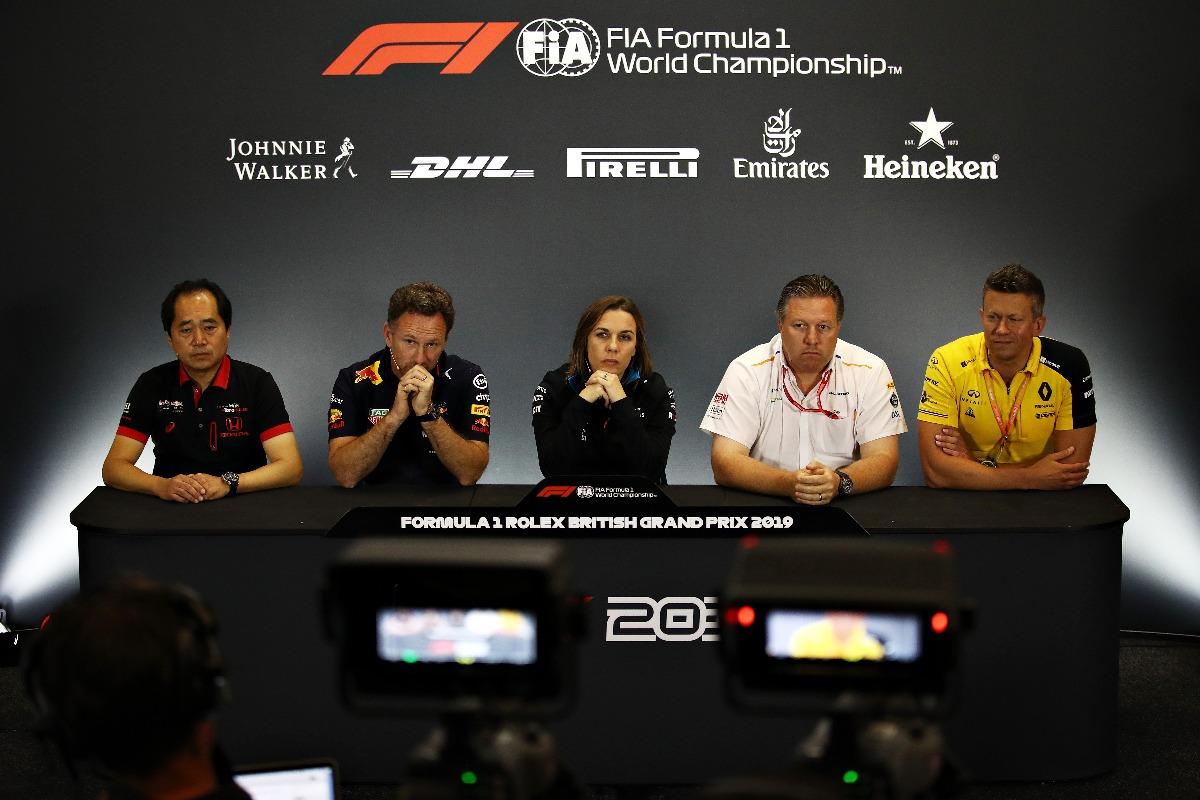 Rueda de prensa de jefes de equipo en el GP de Gran Bretaña F1 2019 - SoyMotor