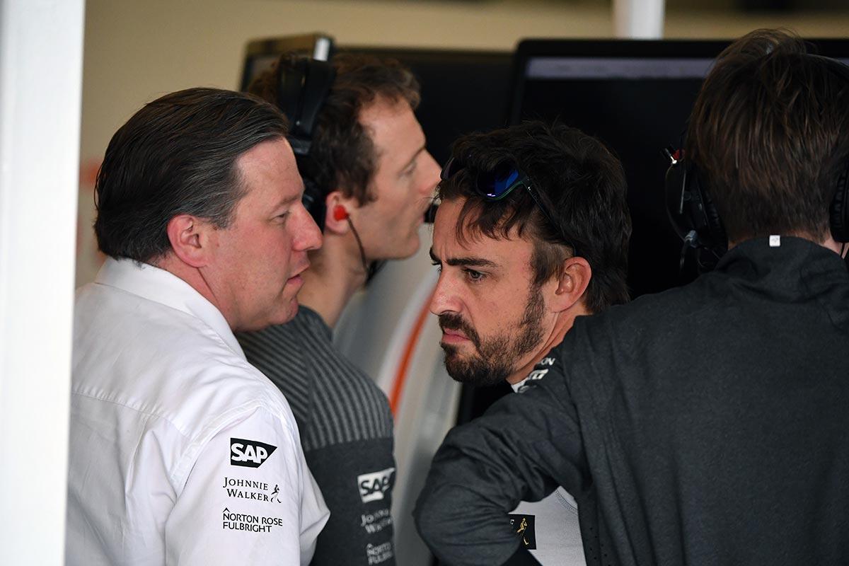 Entre Alonso y Honda, McLaren no duda - SoyMotor