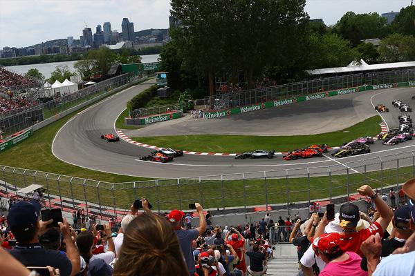 Salida de la carrera del GP de Canadá 2018 - SoyMotor.com