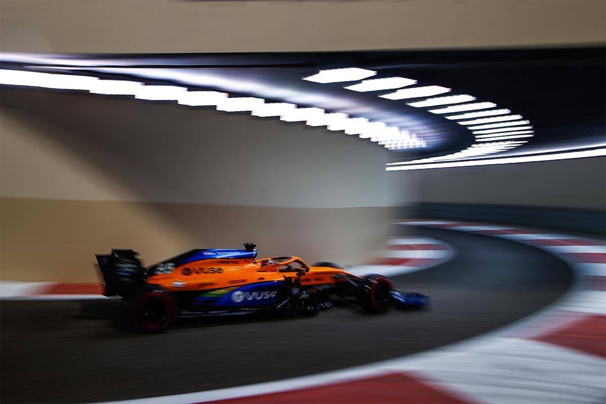 Carlos Sainz en el  GP de Abu Dabi F1 2020 - SoyMotor.com
