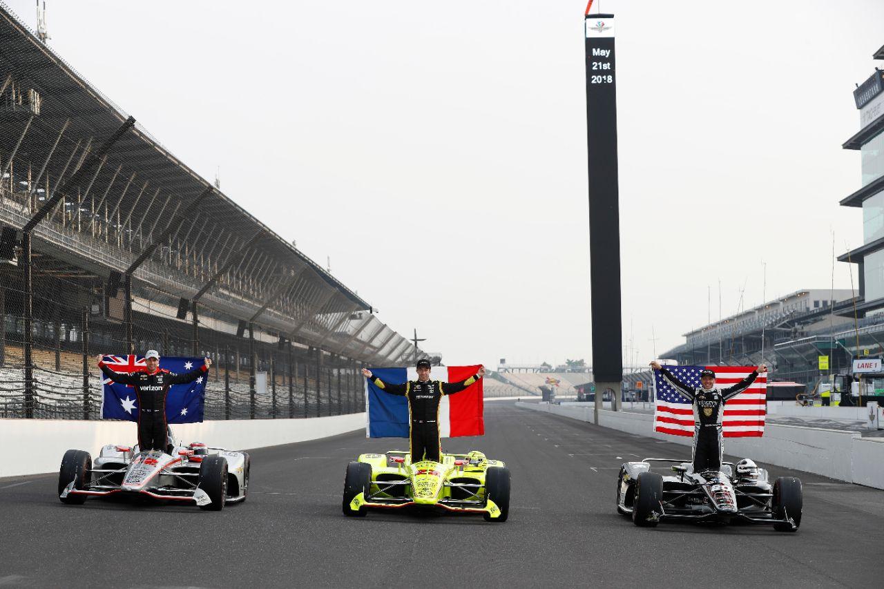 Los tres primeros clasificados de la parrilla de 2018 – SoyMotor.com