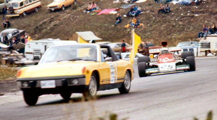 El primer coche de seguridad, en el GP de Canadá 1973 - SoyMotor