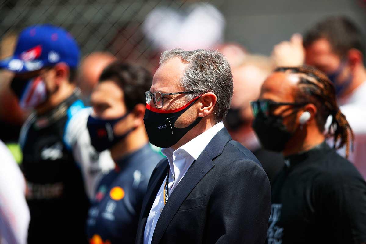 Stefano Domenicali en el pasado GP de Portugal F1 2021 - SoyMotor.com