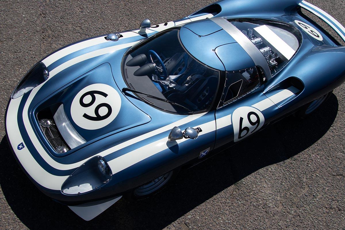 Ecosse LM69: recreación del mito del inédito Jaguar XJ13 ...