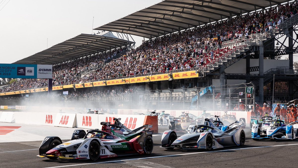 La Fórmula E muestra las garras en México con un ePrix espectacular - SoyMotor.com