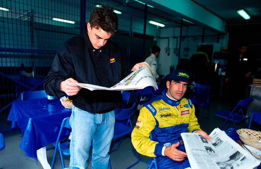 Fernando Alonso y Marc Gené en Jerez - SoyMotor.com