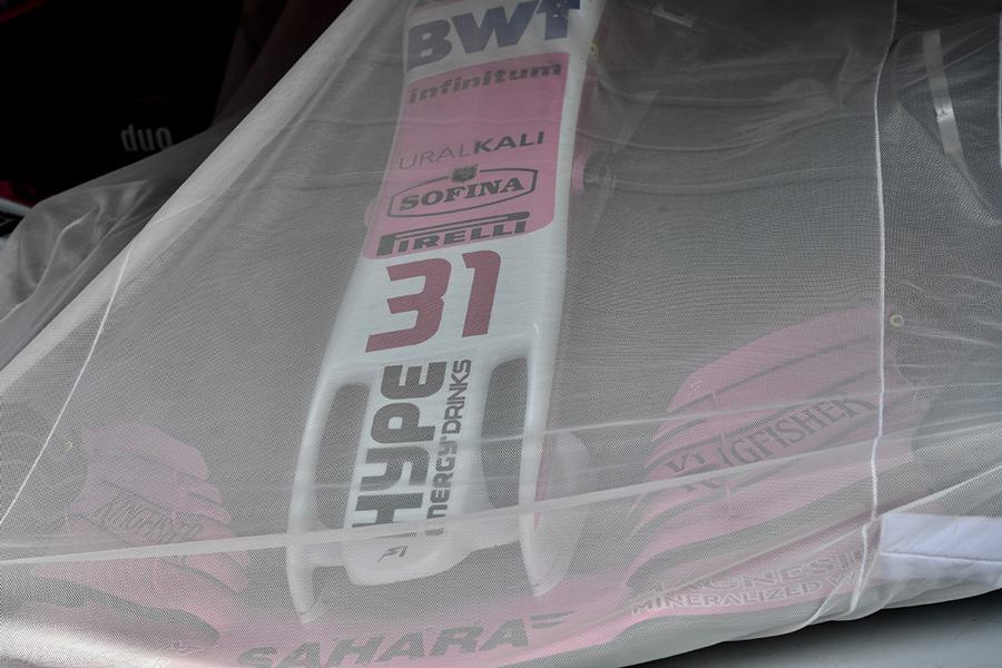 VJM11 de Force India cubierto en Austria - SoyMotor.com