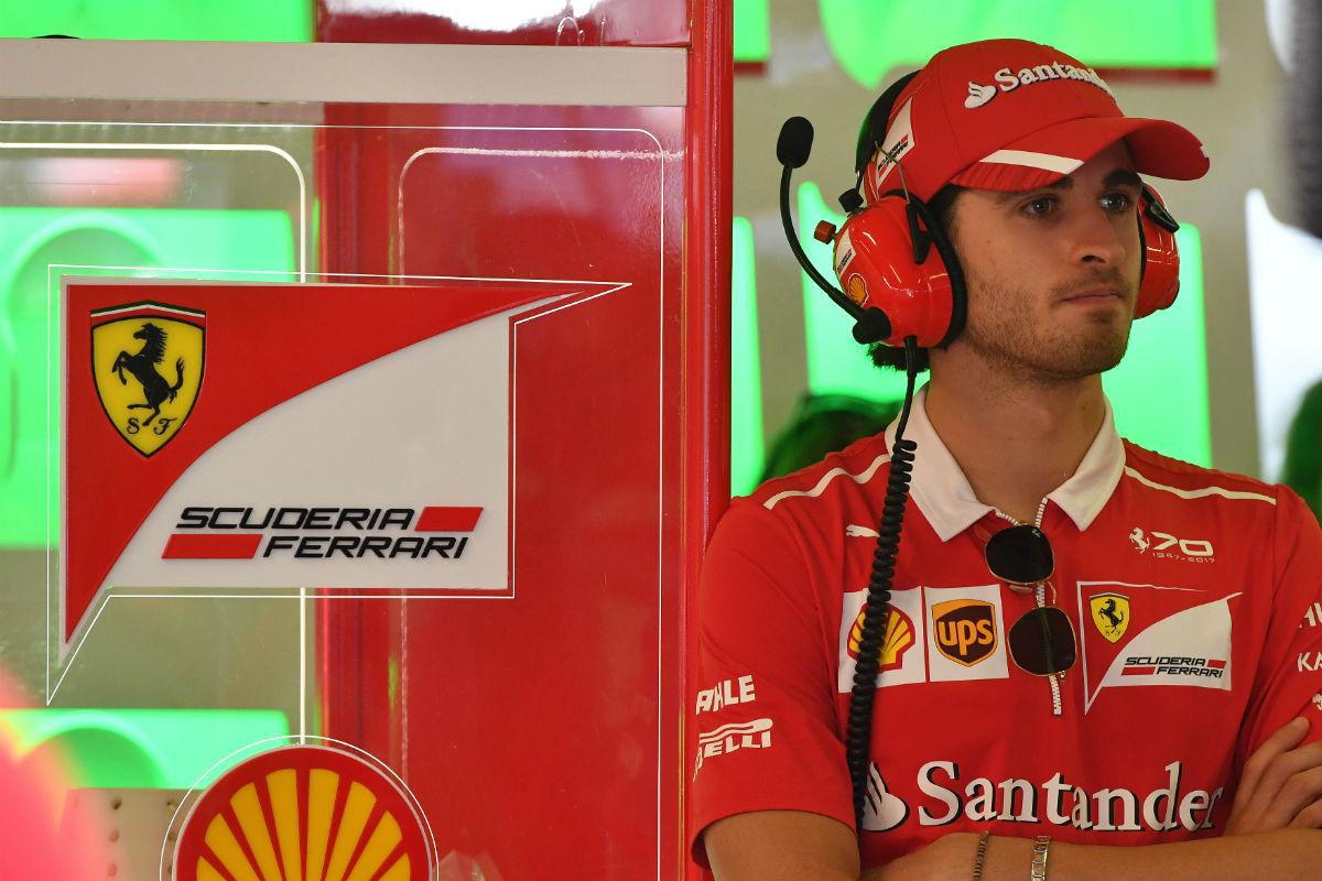 Giovinazzi, la clave de una primera fila Ferrari