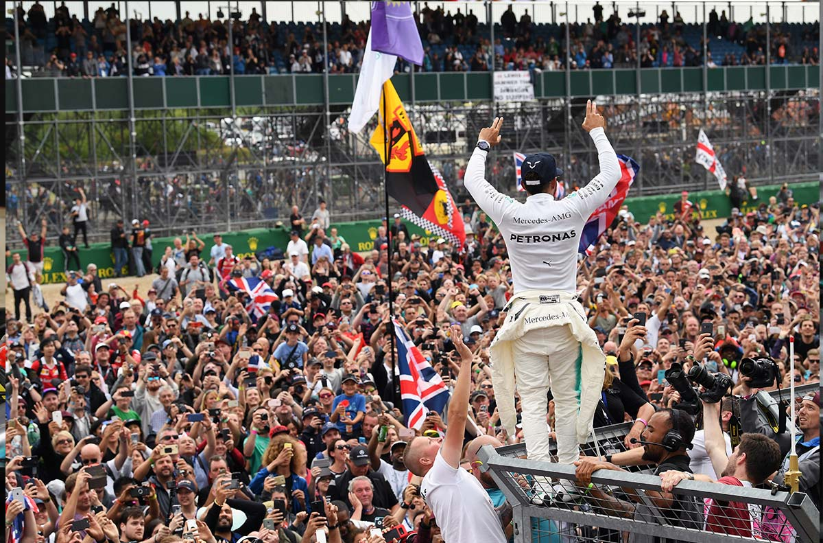 Récords F1: Estadísticas del Gran Premio Gran Bretaña 2017 - SoyMotor.com