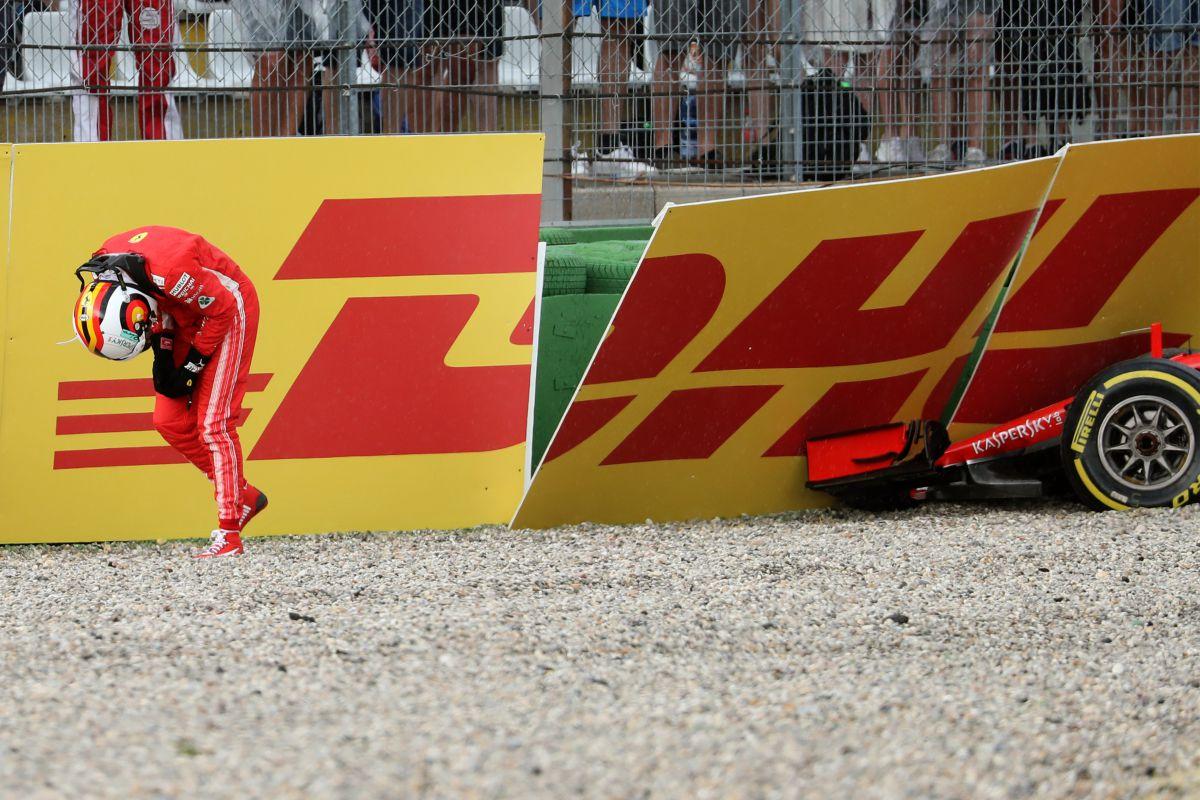 Abandono de Sebastian Vettel en Hockenheim - SoyMotor.com
