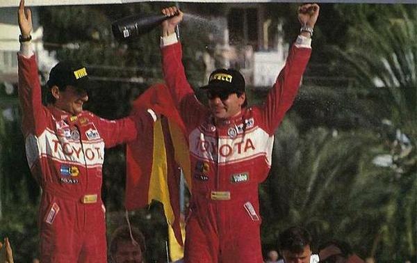 Carlos Sainz en 1990 – SoyMotor.com