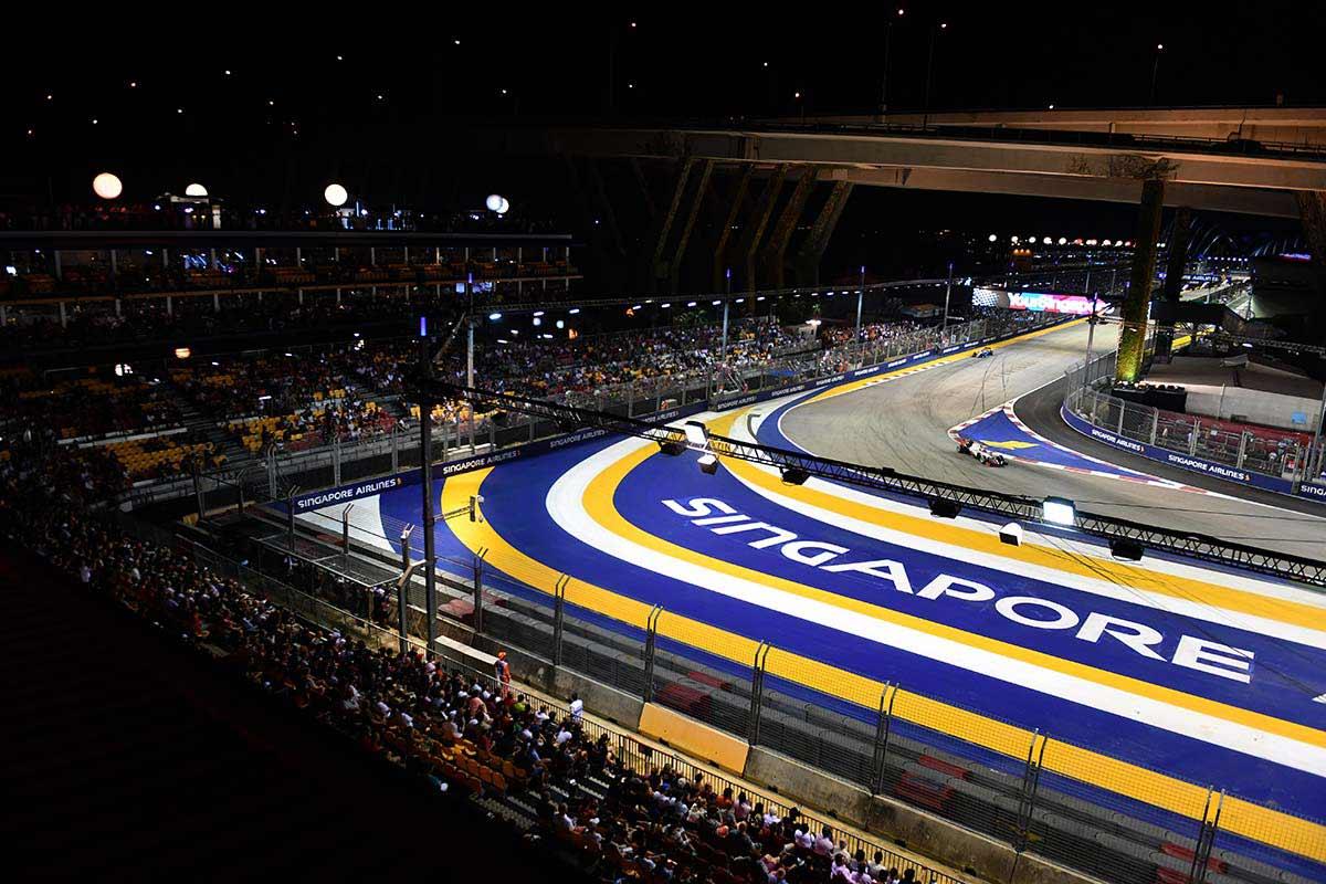 Circuito F1 Singapur : Gp de singapur f libres clasificación y carrera soymotor