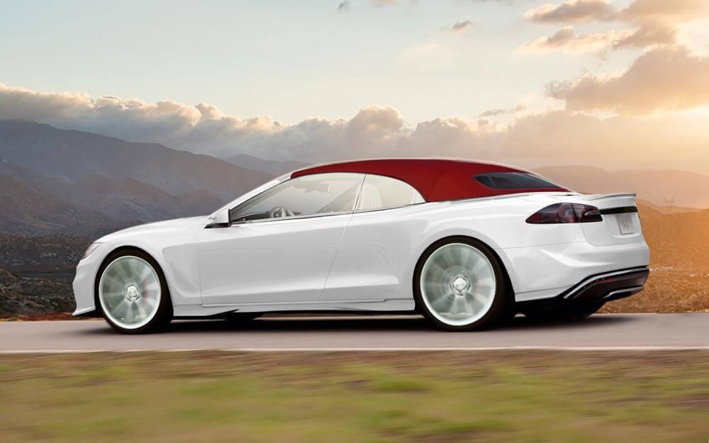 ¿Un Tesla Model S Cabrio? Sólo uno y por 300.000 euros ...