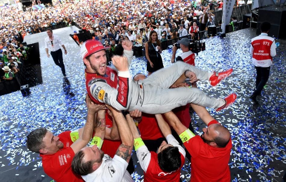 Daniel Abt logra la primera victoria para Audi Sport ABT