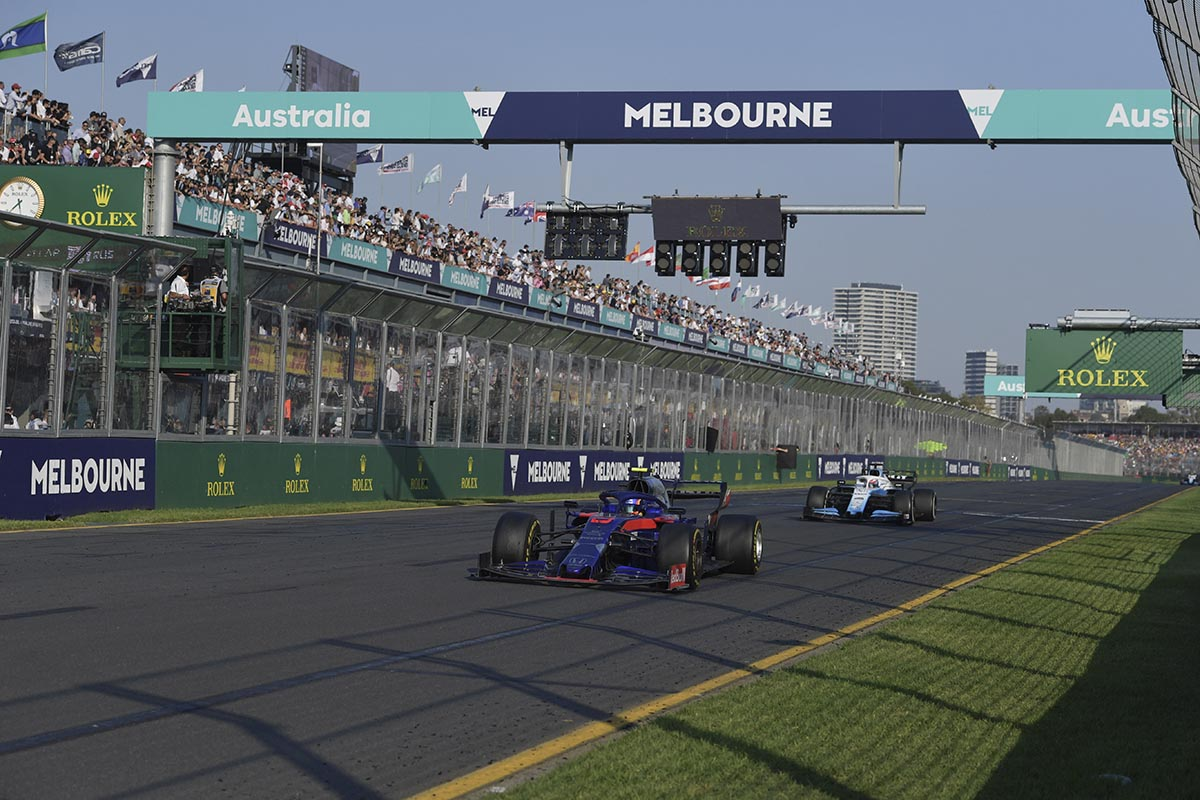 GP AUSTRALIA F1 - cover