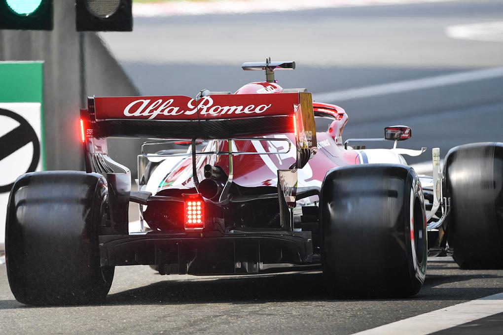 Alfa Romeo temió sufrir en China la misma avería que Leclerc en Baréin