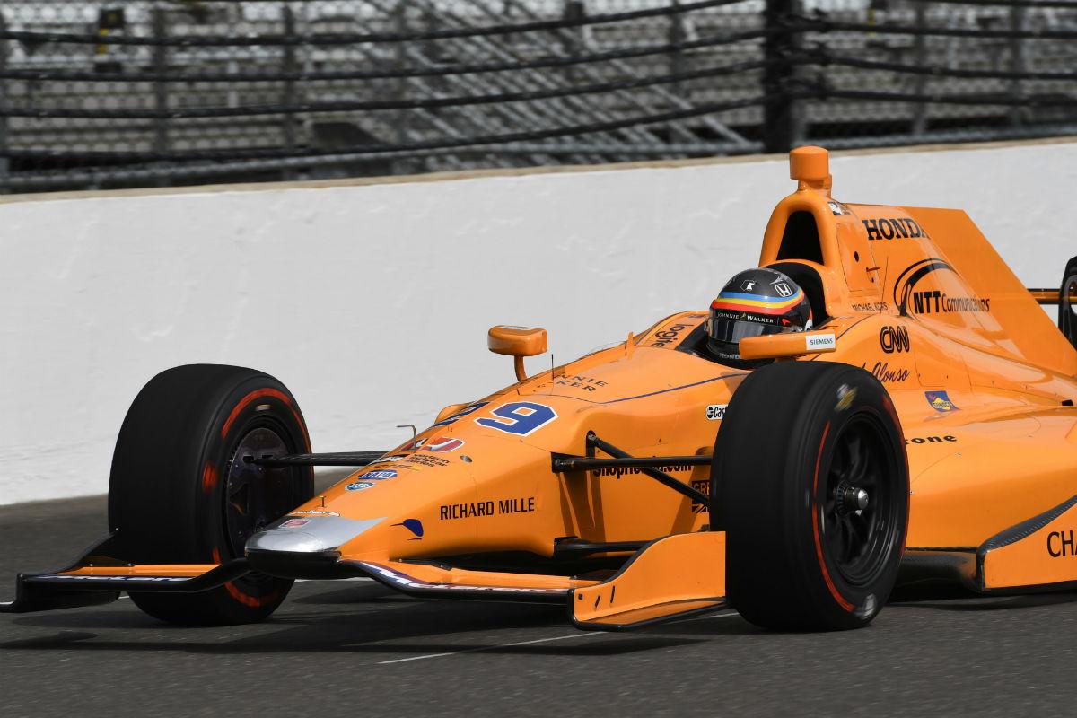Alonso queda un largo camino estoy contento con el for Indianapolis motors el paso tx