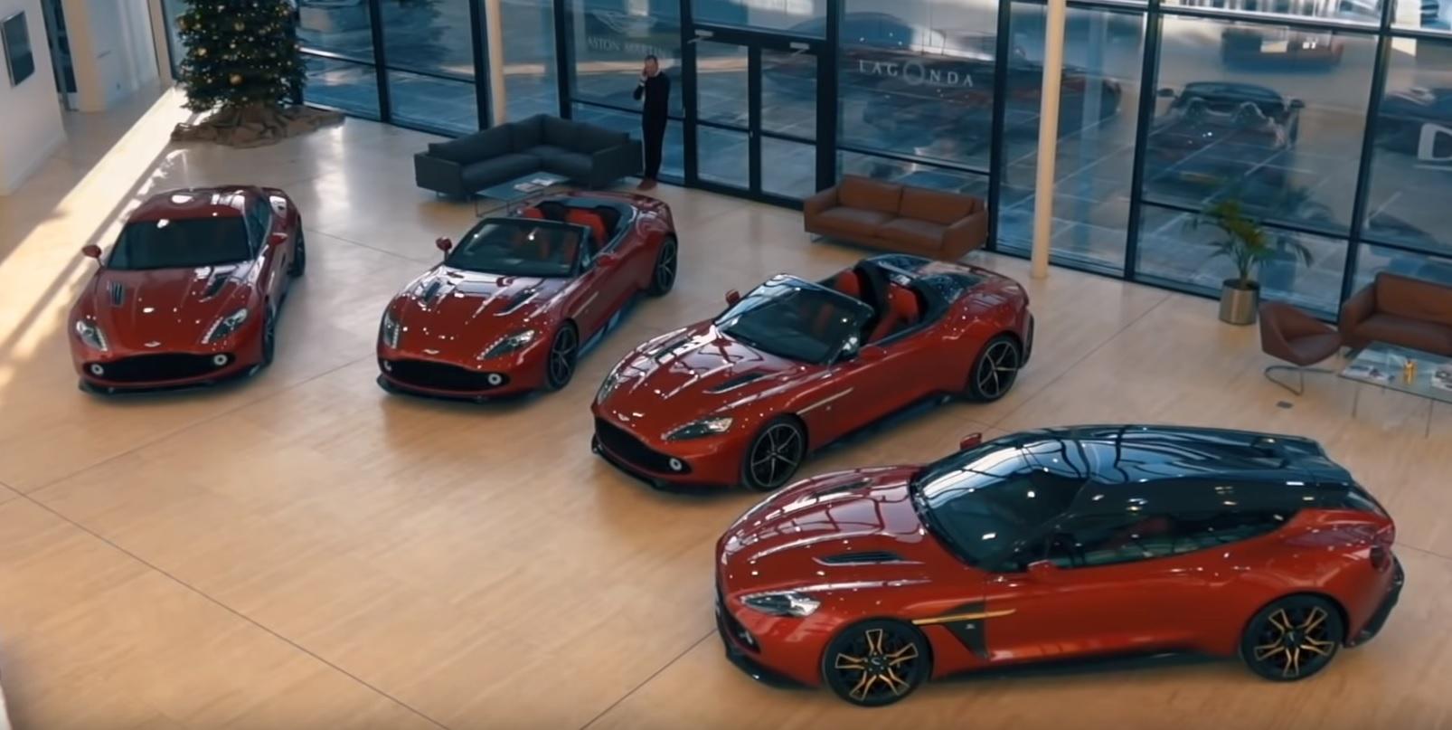 Los Cuatro Aston Martin Vanquish Zagato De Un Solo Dueno Soymotor Com