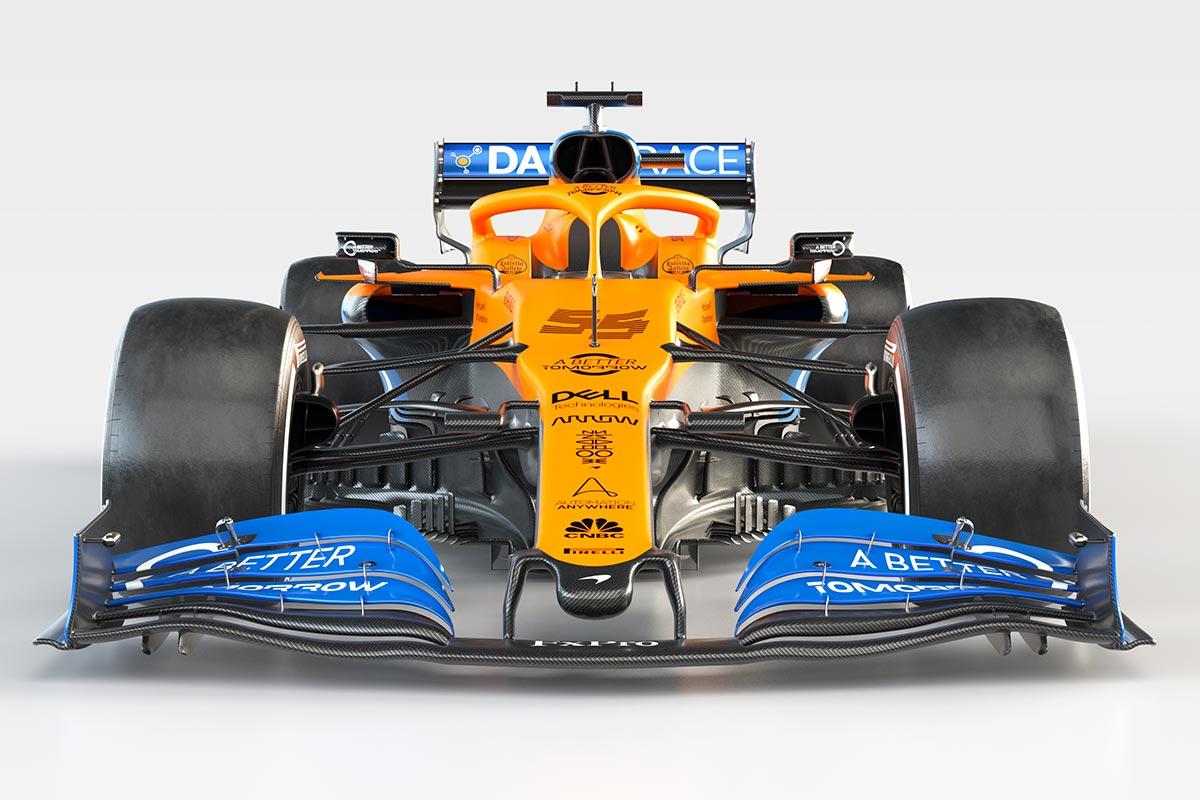McLaren presenta el MCL35, el coche 2020 de Sainz y Norris