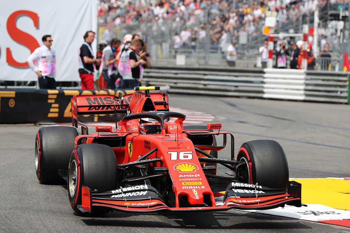 Ferrari en el GP de Mónaco F1 2019: Sábado
