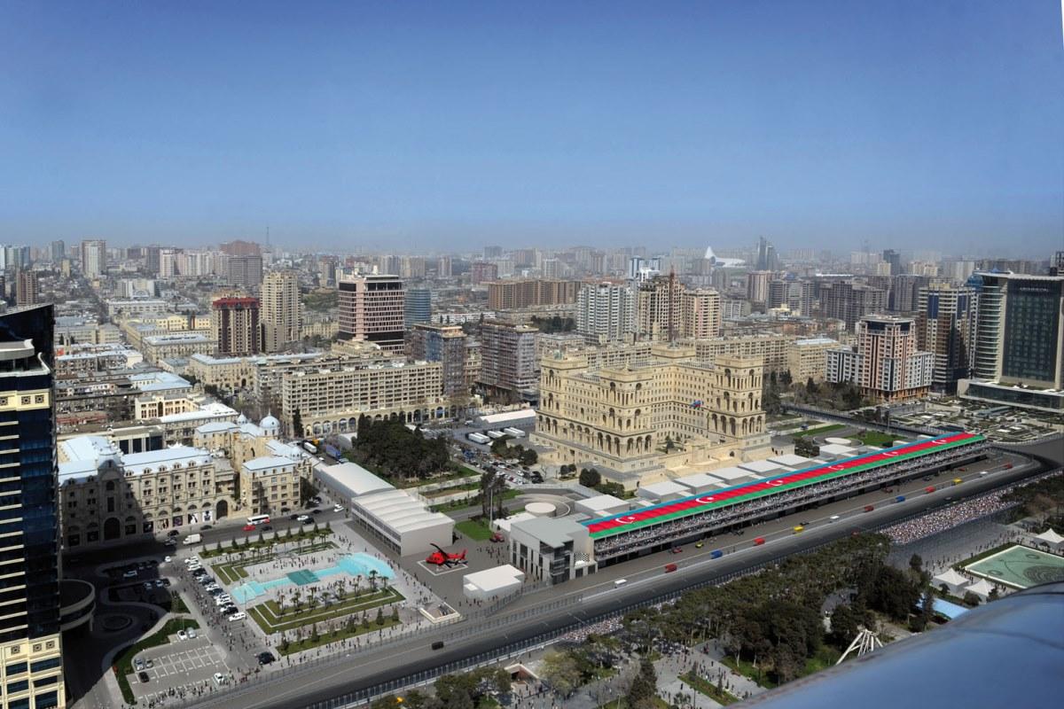 Circuito Urbano De Baku : Bakú azerbaiyán presenta su circuito urbano para integrarse a la