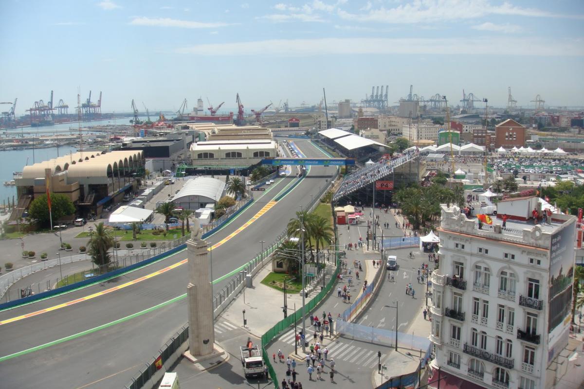 Circuito Urbano Valencia : Carreras ilegales en el antiguo circuito de f en valencia