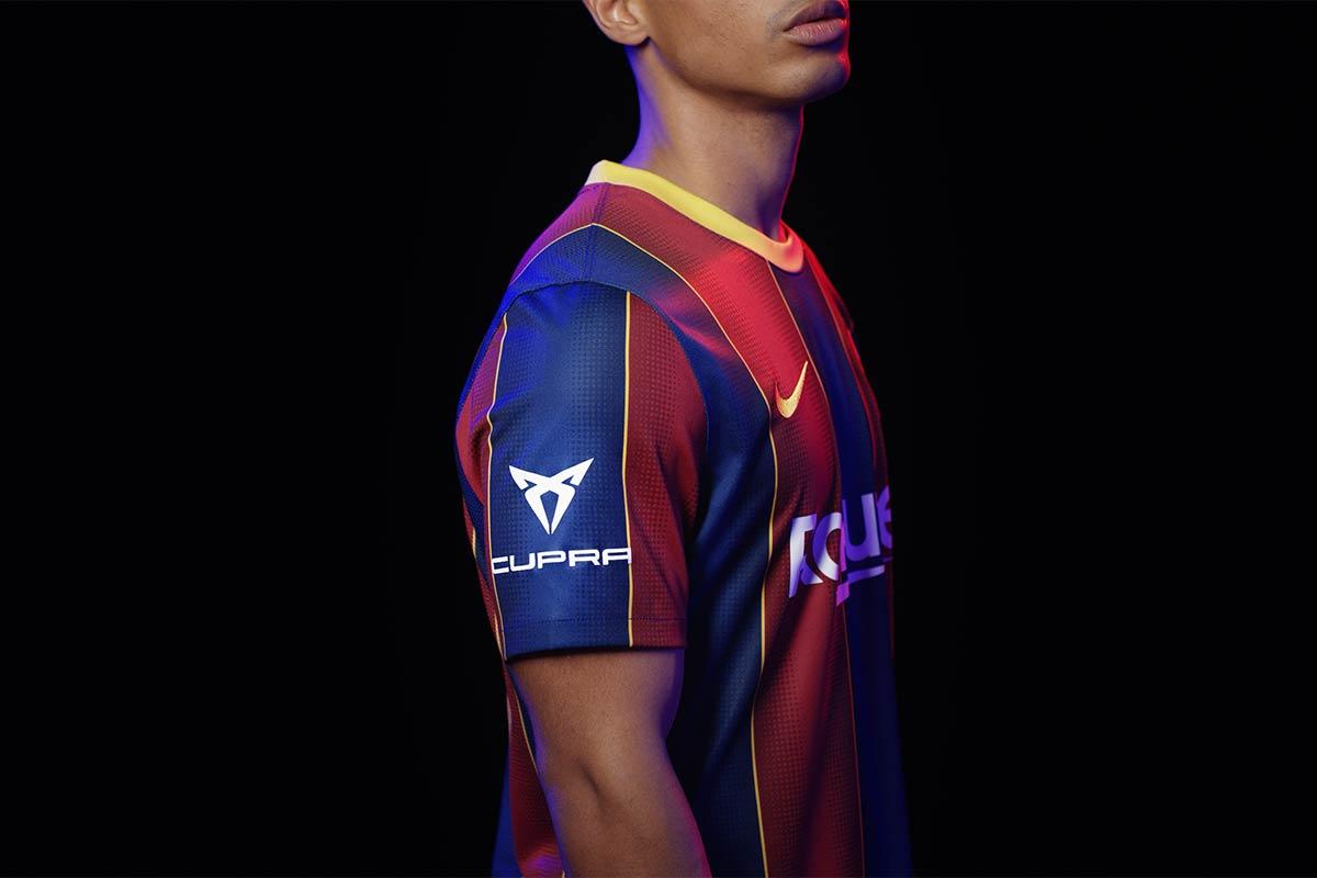 Cupra, presente en la camiseta del Barça para el Gamper