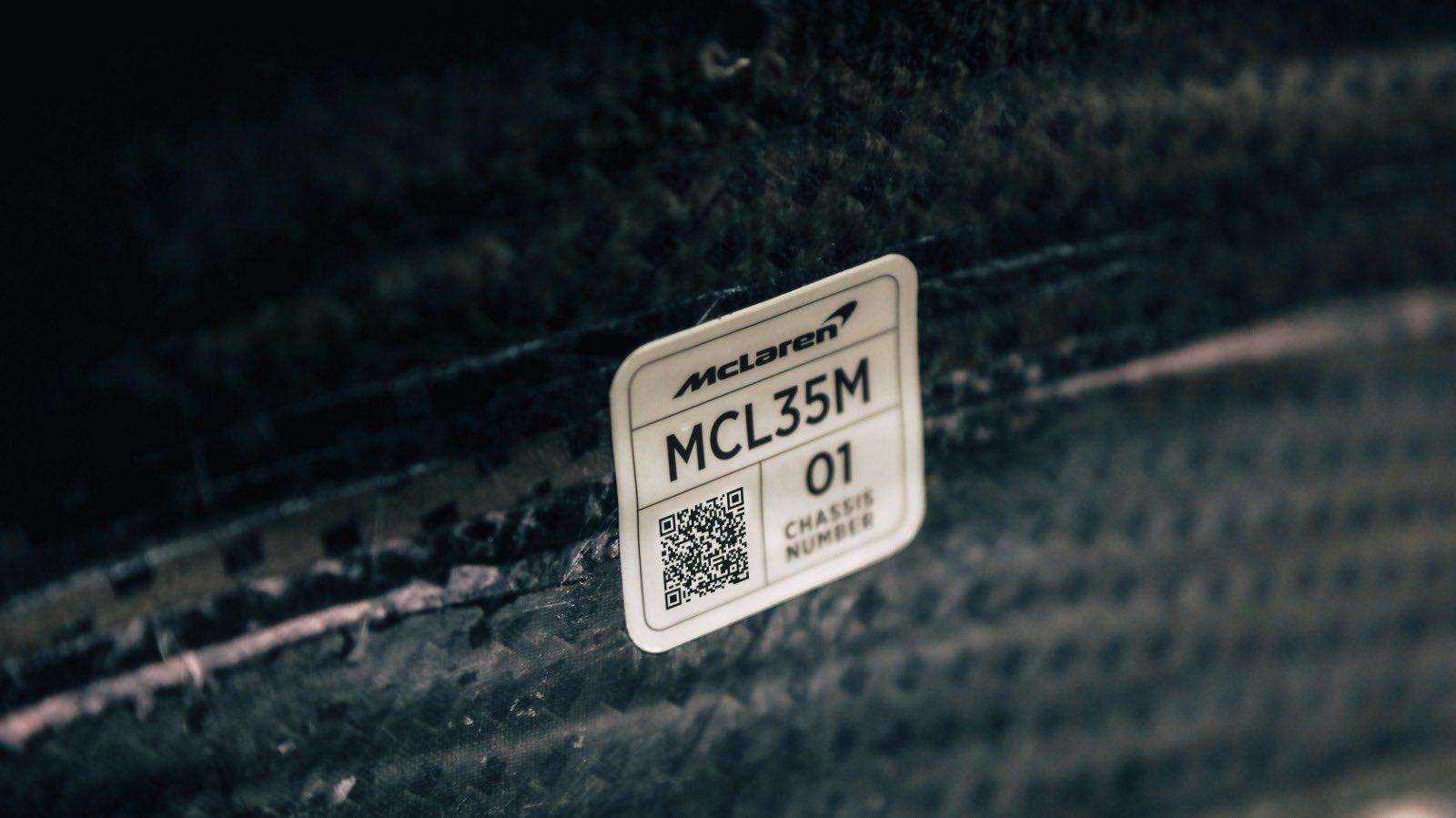 Así ruge el motor Mercedes en el nuevo McLaren MCL35M