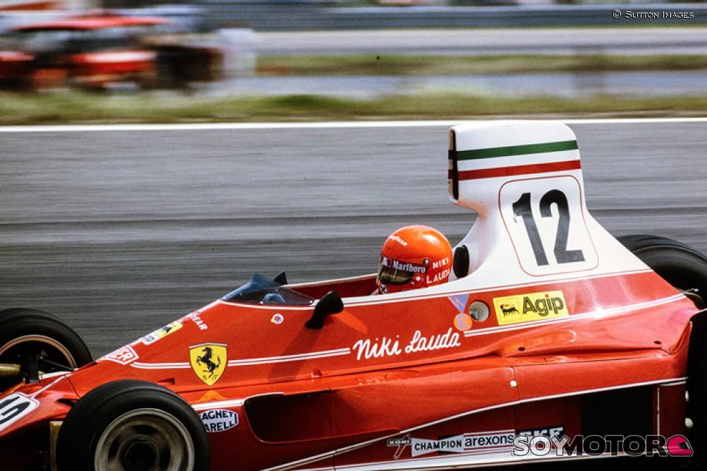 El Ferrari 312T de Niki Lauda, a subasta esta semana en California