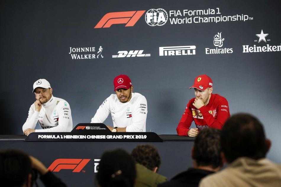 GP de China F1 2019: Rueda de prensa del domingo