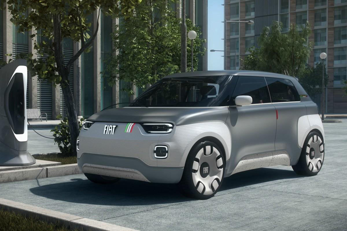 Fiat Concept Centoventi: un eléctrico de lo más innovador