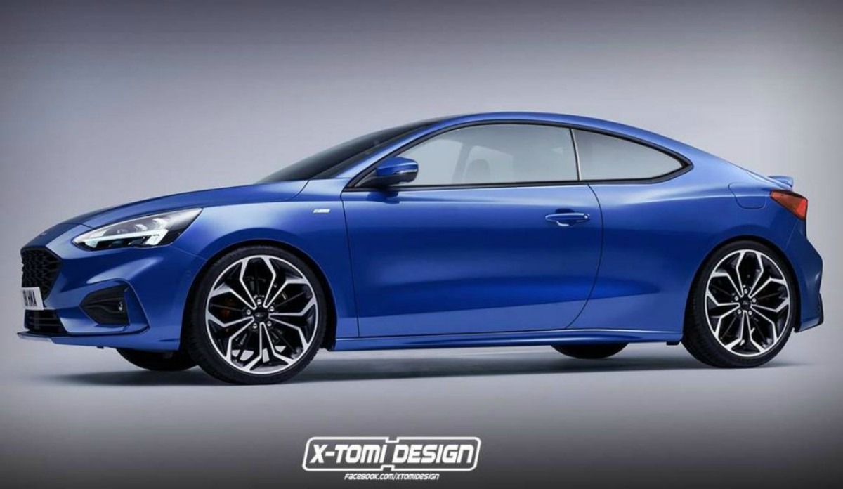 Ford Focus Coup 233 Un Render Para So 241 Ar Despierto