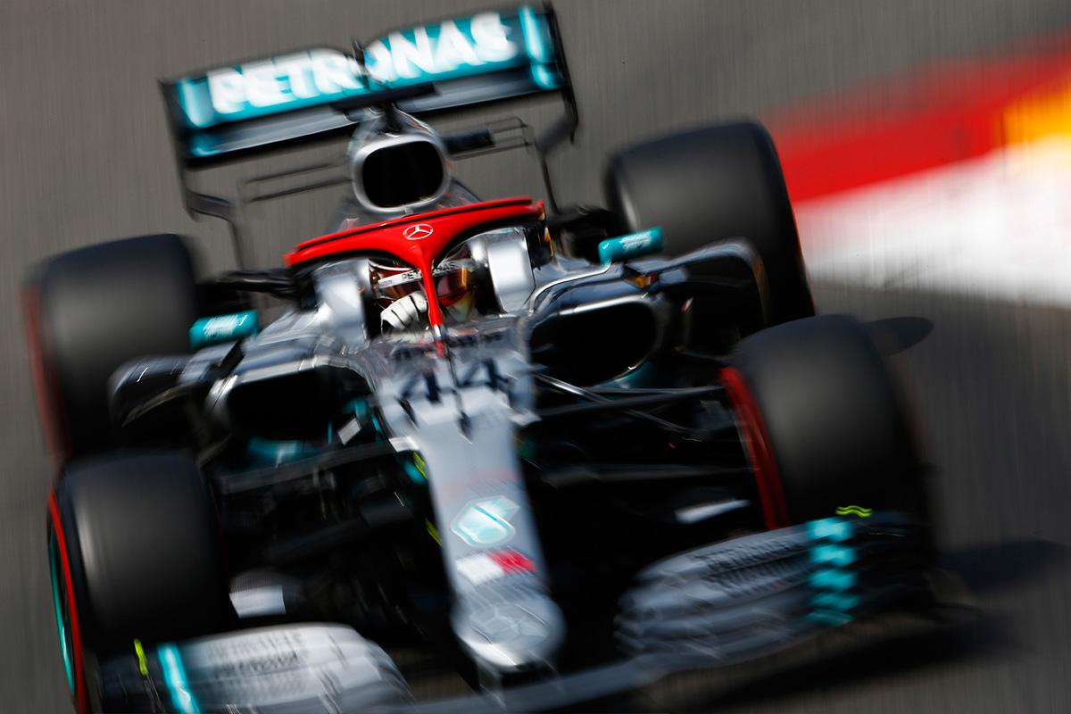 Mercedes en el GP de Mónaco F1 2019: Sábado