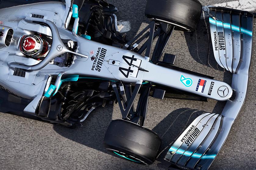 Mercedes no planea un gran paquete aerodinámico para Australia