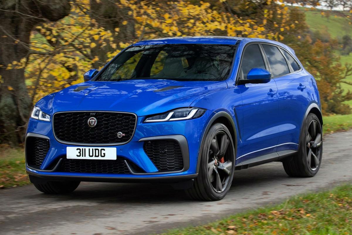Jaguar F-Pace SVR 2021: cuerpo SUV, alma de deportivo ...