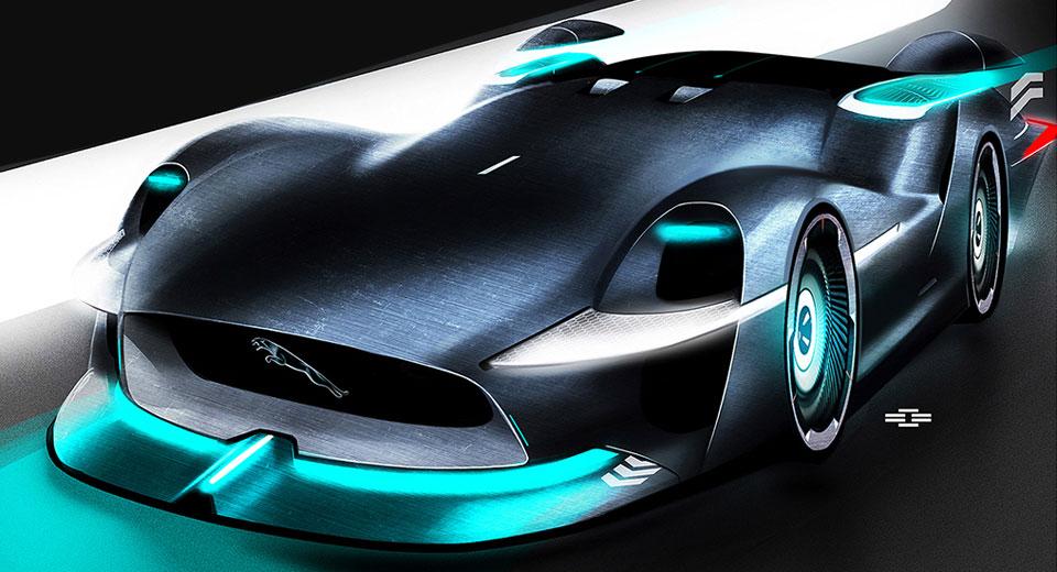 Jaguar Persona El Coche De Carreras De 2030 Soymotor Com