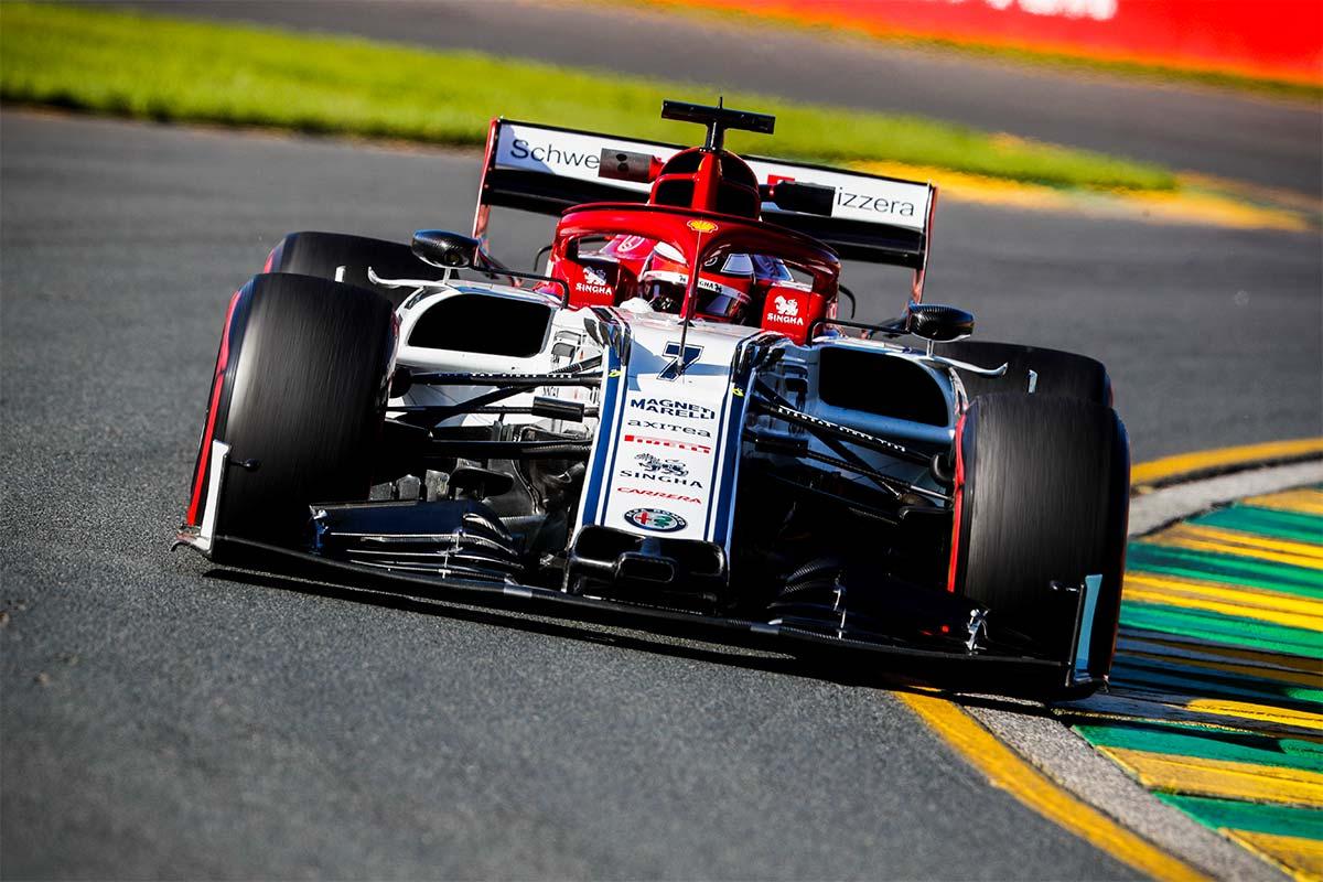 Alfa Romeo en el GP de Australia F1 2019: Viernes