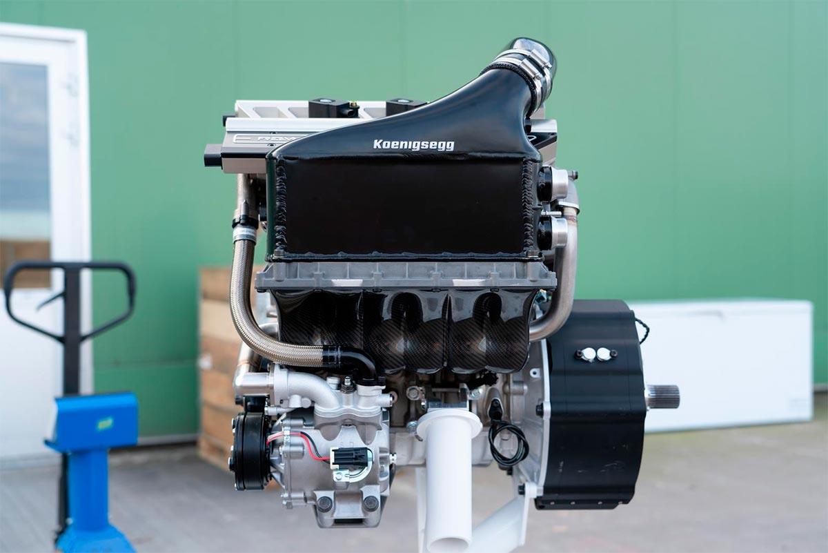 Königsegg Motor