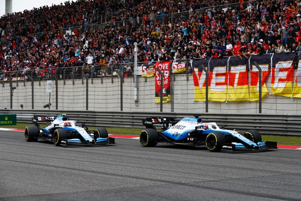 Williams en el GP de China de F1 2019: Domingo