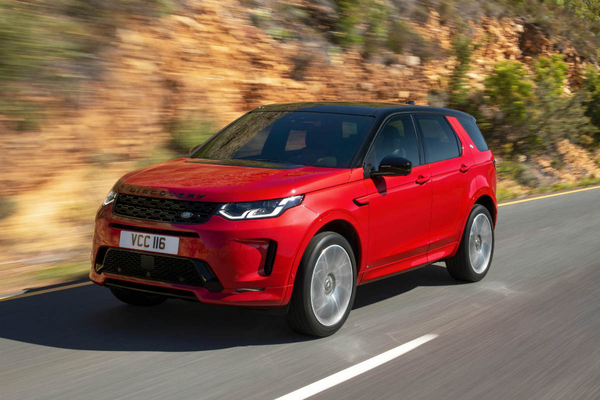 2020 Land Rover Discovery Sport Exterior and Interior