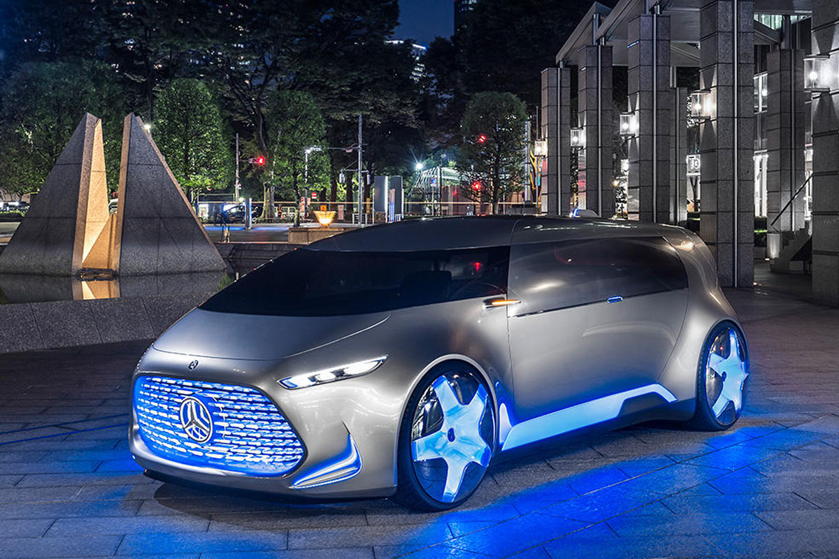 Mercedes benz vision tokyo vip hibrido y futurista for Mercedes benz vision